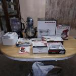Kitchen Aid 6 Qt. Lift Stand Mixer and Accessories Package Deal