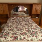 Queen bedroom set and dresser and chest