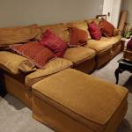 MOST COMFORTABLE COUCH/SECTIONAL EVER!