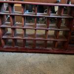 Display Shelf with Mirror