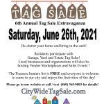 Torrington Citywide Tag Sale Extravaganza