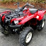 2009 Yamaha Grizzly 700 EFI 4x4 EPS Midnight Armor