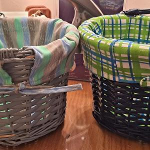 Photo of 2 brand new Easter baskets