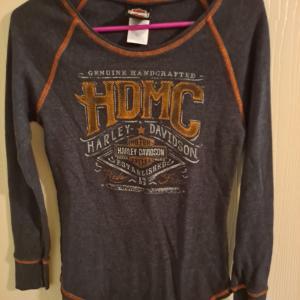 Photo of Juniors size medium Harley shirt