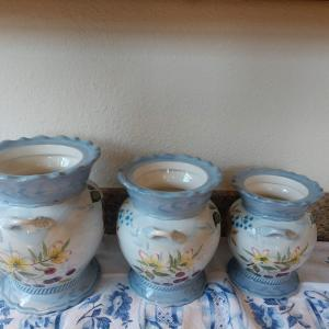 Photo of Ceramic Canisters (Handpainted)