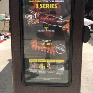 Photo of New Pit Boss Series 3 Vertical Pellet Smoker
