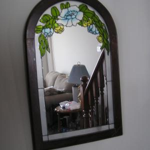 Photo of Glass Frame Mirror