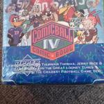 Warner brothers comic ball football cardsBox set