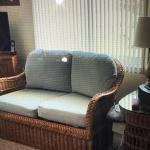 Vintage Wicker Living Room /Patio Set