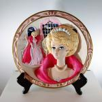 Barbie 'Sophisticated Lady' Limited Edition 3D Plate w/COA