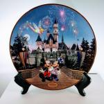 Disneyland's '40th Anniversary' Collectible Plate w/COA
