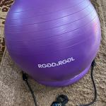 Yoga Ball w/resistance bands