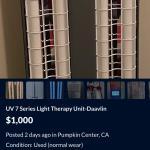 UV Photo Therapy Unit - Mfg Daavlin