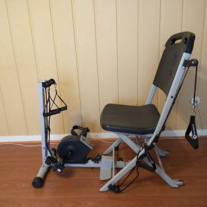 Photo of Resistance Chair Exercise System w bicycle peddle