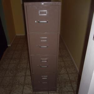 Photo of Hon steel filing cabinet