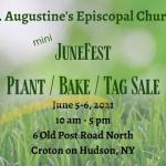 Annual Plant Sale, Outdoor Tag Sale and Bake Sale