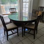 Antique Dining Set and Hutch
