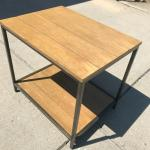End table rustic