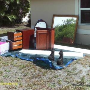 Photo of furniture and closet doors