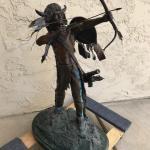 "Harold Shelton Statue called ""Defender of the Dakotas"""
