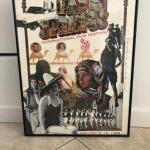 Palm Springs International Film Festival Poster-from Jan 8-19th 1998, signed by