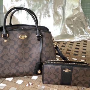 Photo of Coach Handbag and Wallet