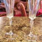 Six Champagne Flutes