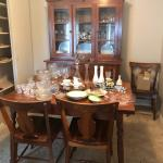 Dining set and 2 pc China cabinet
