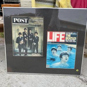 Photo of Beatles memorabilia