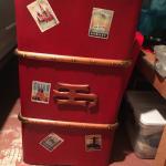 Vintage rodeo trunk