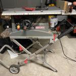 Craftsman portable table saw