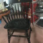 Heavy wood chair
