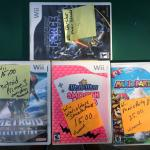 Wii Games in original boxes