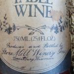 Vintage Stone Mill Winery Set