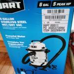 Hart 6 Gallon Wet Dry Vac - New In Box