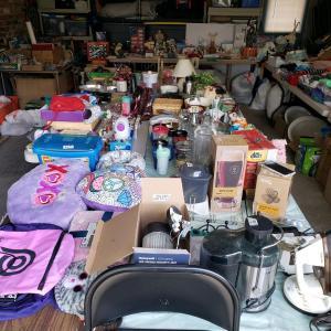 Photo of Huge garage sale!
