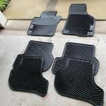 VW TDI rubber car mats