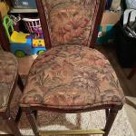"""Pair of tall bar stool chairs 38"""" tall"""