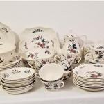 """Lot #45  LARGE set of WEDGWOOD China in the """"Potpourri"""" pattern"""