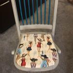 Old Folding Samsonite Chair