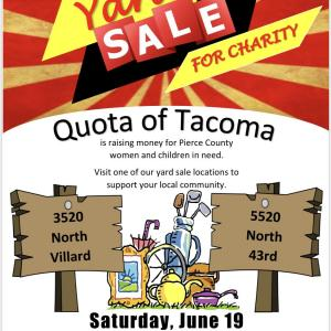 Photo of Yard sale for charity - 2 locations! (Tacoma)