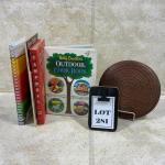 -281- VINTAGE   Fun Cook Books   Wood Trivet   Campbells   Jello