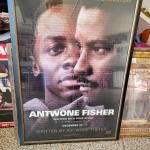 Antwone Fisher, signed