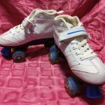 Ladies indoor rollerskates size 7
