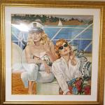 Limited edition serigraph by L. Ross