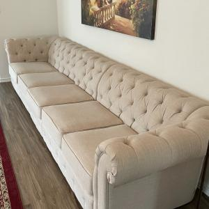 Photo of 5-Seat Chesterfield Sofa