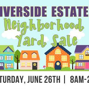 Photo of Riverside Estates Neighborhood Yard Sale