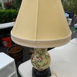 Asian Ceramic Gourd shaped table Lamp