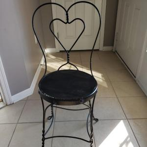 Photo of Vintage Ice Cream Parlor Wire Chair