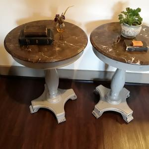 Photo of Marble Side Tables
